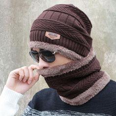 357db3453aa 2016 new knitted hat fashion Beanies Knit Men s Winter Hat Caps Skullies  Bonnet For Men Women