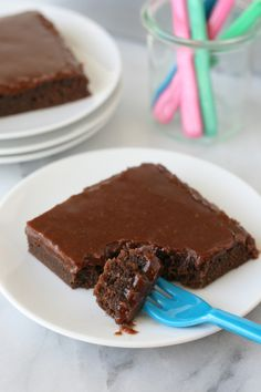Chocolate Fudge Cake  - The perfect cake to satisfy any chocolate craving!
