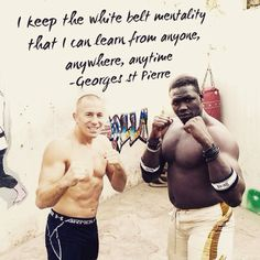 GSP UFC bjj JiuJitsu mma quote Follow @bjj_philosophy on Instagram