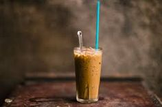 Image result for vietnamese food photography iced coffee