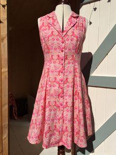 Sewoverit vintage shirt dress.