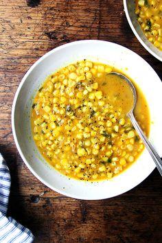Deborah Madison's Curried Coconut Corn Soup - Alexandra's Kitchen