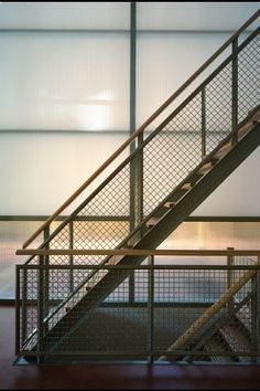 indoor hallways - light court - transparency - translucency - wood - architecture - Arconiko architecten