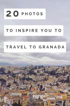 Granada in Southern Spain is absolutely phenomenal. I've visited 7 times over the past 3 years. Safe to say it's my favourite city in the entire world! These 20 photos of Granada will inspire you to book a flight right now.