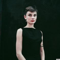 audrey hepburn- love the sweet simplicity.. might just be her for halloween.