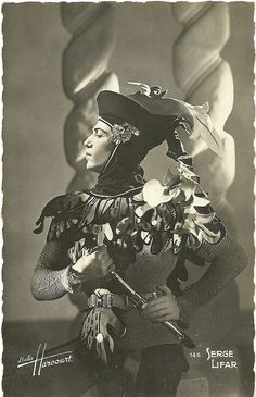 Dancer of the Russian Imperial Ballet, Serge Lifar
