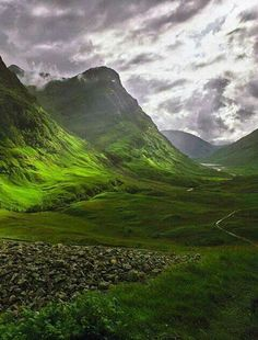 Most of That Autumn in Edinburgh takes place in that city or south, in the Borders, but the Epilogue finds the protagonists driving up to the Highlands for the last scene...seeing landscapes that look like this...