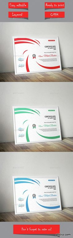 Certificates templates for pages 10 mac os x gfxtra graphicriver certificate 14886965 yelopaper Images