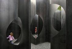 Escape a massive steel maze in Belgium