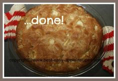 Very Simple Homemade Apple Dessert