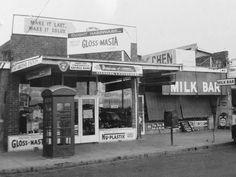 Kerrimuir Shops, Box Hill in 1967