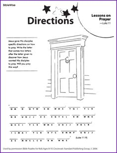 Kids Bible Worksheets-Free, Printable The Prodigal Son