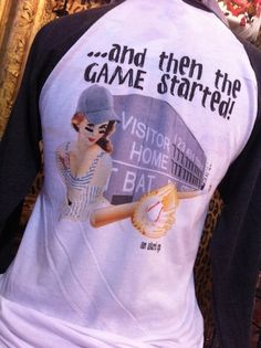 """I want this shirt!  :)  """"She was calm, cool, and collected...and then the game started!"""""""