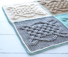 Celtic Tiles Blanket - a free crochet pattern by Tatsiana Kupryianchyk.