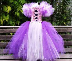 RAPUNhaZEL Tangled BEAUTIFUL Princess Tutu Dress by LivysBOWtique, $45.00