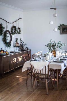Unusual Rustic Dining Room Table Decor Ideas – Best Home Decorating Ideas Dining Room Table Decor, Decoration Table, Centerpiece Ideas, Diy Table, Kitchen Decor, Dining Chairs, Boho Deco, Bohemian Decor, Navidad Diy