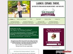 nice Clickbank: Pet Sitting Business Start up Kit for Pet Sitters - The Six-Figure Pet Sitting Academy™