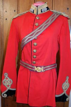 Victorian Royal Engineers Captain's Full Dress Tunic