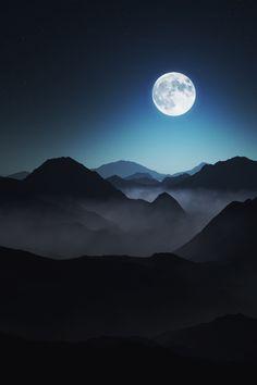 sitoutside:  Moonlight shadows byOtto Hütter