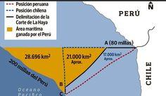 Así quedó definido el mar peruano tras el fallo de La Haya http://hbanoticias.com/3456