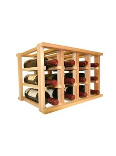 Best Wine Rack   Wooden Wine Rack  12 Bottle Wine Rack  No Assembly Required  Countertop or Stackable *** You can find out more details at the link of the image.(It is Amazon affiliate link) #red