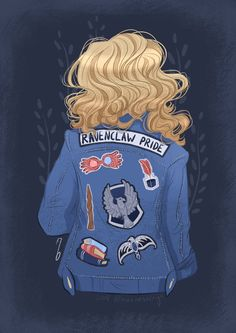 Hogwarts, ravenclaw, luna lovegood, harry potter ⚡ 🔥, my ravenclaw collect Harry Potter Fan Art, Harry Potter Anime, Harry Potter Universal, Harry Potter Fandom, Harry Potter Memes, Harry Potter World, Harry Potter Jacket, Potter Facts, Casas Estilo Harry Potter