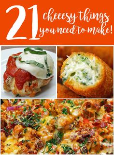 Because we DO eat carbs. ....21 Cheesy Things You Need To Make!