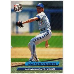 1992 TORONTO BLUE JAYS TODD STOTTLEMYRE FLEER ULTRA BASEBALL TRADING CARD #153. Buy it on eBid Canada | 151874232