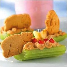 fun and healthy snacks for kids