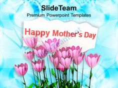 Express gratitude to moms on mothers day powerpoint templates ppt pink tulips with message happy mothers day powerpoint templates ppt themes and graphics 0513 powerpoint toneelgroepblik Image collections