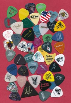50 guitar picks  (large lot 10)  #GuitarPicks