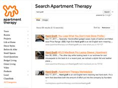 """""""Are they pricey? Yes. But this is one of those times when the old adage """"you get what you pay for"""" truly applies […]"""" Apartment Therapy    http://www.apartmenttherapy.com/search?q=hard+graft"""