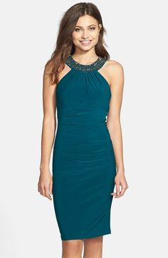 http://www.lyst.com/clothing/xscape-embellished-jersey-sheath-dress-neo-emerald/?product_gallery=52557917