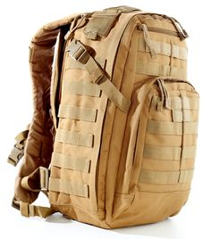 Modern Tactical US Military Army Backpack by Monkey Paks™ with 2.5L Water Bladder System Included