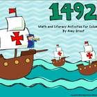 1492 is a collection of activities that can be used in centers, as morning work, and whole group during your studies about Christopher Columbus. 3rd Grade Social Studies, Social Studies Classroom, Teaching Social Studies, Columbus Day, 1492 Columbus, Holiday Activities, Classroom Activities, Classroom Decor, Christopher Columbus Facts