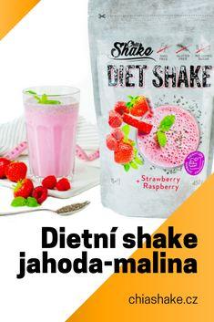 Raspberry, Strawberry, Shake Diet, No Sugar Diet, Milkshakes, How Sweet Eats, Paleo, Food And Drink, Health Fitness