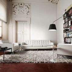 Salon elegante / Stylish lounge #elegante #salon #stylish #lounge #interior #design #decoracion