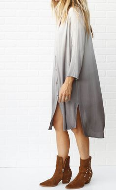 Dip Dye tunic // wanna live in this