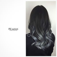 "346 Likes, 87 Comments - Natural Creations Salon Canada (@ncsalon.to) on Instagram: ""Thunderbolt grey ash tone #ombre."""