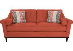 Picture Of Sofia Vergara Angora Terracotta Sofa From Sofas Furniture