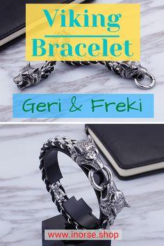 Handmade Wire Jewelry, Hand Jewelry, Cute Jewelry, Handmade Bracelets, Viking Bracelet, Viking Jewelry, Western Jewelry, Viking Arm Rings, Vegvisir