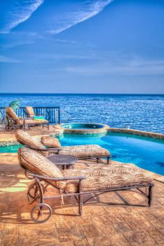Where the backyard meets the ocean... that's where you'll find us!