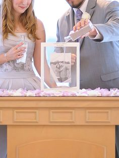 Wedding Checklist Unity sand wedding ceremony ideas - It's one of the most traditional ways to symbolize your union, but you can still make it your own. Budget Wedding, Destination Wedding, Wedding Planning, Wedding Events, Wedding Ceremony, Wedding Sand Ceremony, Sand Unity Ceremony, Wedding Unity Ideas, Wedding Table