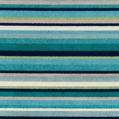 Shop Godric Teal Striped Area Rug - x - Overstock - 22403132 Teal Area Rug, Area Rugs, Rustic Elegance, Cool Tones, Rug Store, Home Decor Trends, Online Home Decor Stores, Surf Shop, Cool Rugs