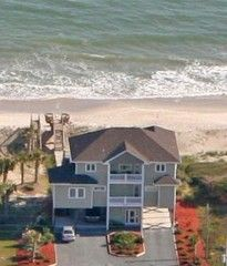 North Topsail Beach House Rental: Sur La Mer-luxury Oceanfront In North Topsail - Spring Specials | HomeAway