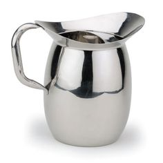 Royal Industries (ROY B 605) - 3 Qt Stainless Steel Water Pitcher w/ Ice Guard | FoodServiceWarehouse.com