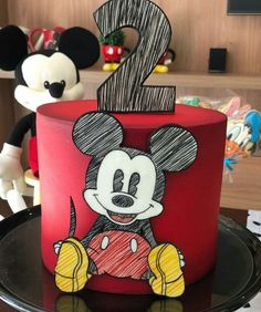 Cake amazing disney mickey mouse 53 Ideas for 2019 Bolo Mickey E Minnie, Disney Micky Maus, Fiesta Mickey Mouse, Mickey Cakes, Mickey Mouse Clubhouse Birthday, Mickey Mouse Cake, Mickey Birthday, Mickey Mouse Invitation, Cake Birthday