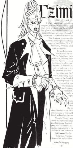 The Art of Vampire: The Masquerade (1990s)