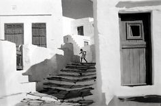 Siphnos, Greece, 1961 by Henri Cartier-Bresson