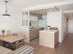 ゆったりと過ごせるダイニングキッチン(建築家とつくりあげた理想のリノベーション空間) - リビングダイニング事例|SUVACO(スバコ)